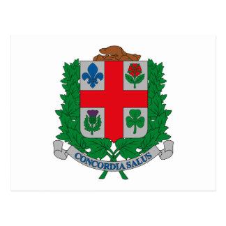 Montreal-Wappen Postkarte