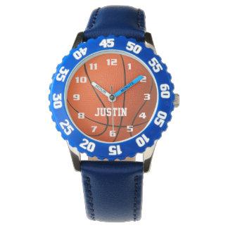 Montres Bracelet Monogramme frais avec le basket-ball