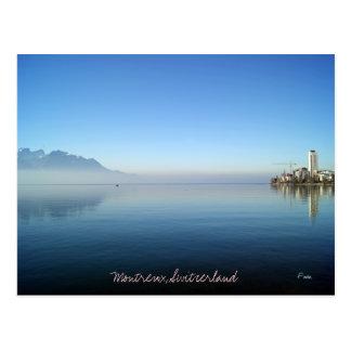 Montreux Postkarte