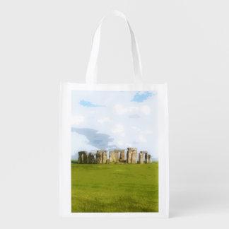 Monument en pierre de cercle de Stonehenge Sacs D'épicerie