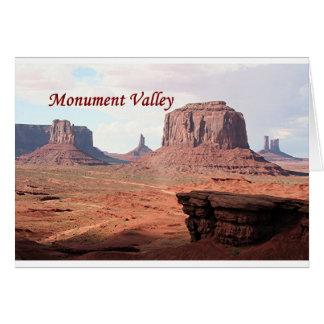 Monument-Tal, der Punkt John-Fords, Utah, USA Karte