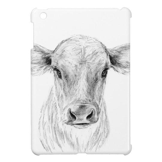 MOO eine junge Jersey-Kuh iPad Mini Cover