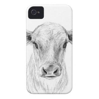 MOO eine junge Jersey-Kuh iPhone 4 Hüllen