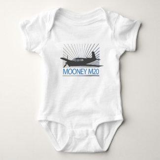 Mooney M20 Luftfahrt Baby Strampler