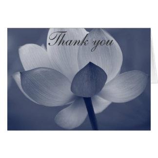Moonlit Blume danken Ihnen Anmerkungen Karte