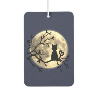 Moonlit Katzen-Auto-Lufterfrischer Lufterfrischer