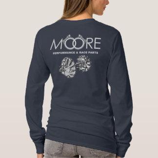 Moore-Leistung zerteilt Turbo-Shirt T-Shirt
