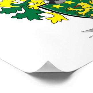 Moore-Wappen Poster
