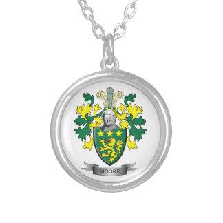 Moore-Wappen Versilberte Kette