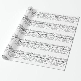 Moores Gesetz Geschenkpapier