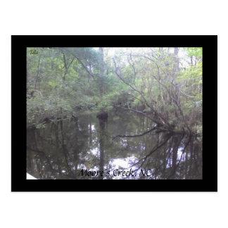 Moores Nebenfluss, NC-Postkarte Postkarte