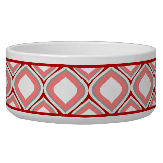 Moosbeerenrote Ogee Keramik-Hundeschüssel Napf