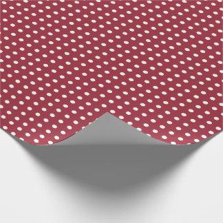 MoosbeerPackpapier mit kleinen Tupfen Geschenkpapierrolle