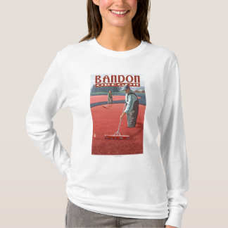 Moosbeersumpf-Ernte - Bandon, Oregon T-Shirt