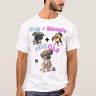 Mops + Beagle = Puggle T-Shirt
