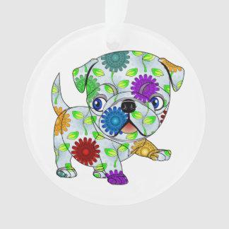 Mops-Kreis-Verzierung Ornament