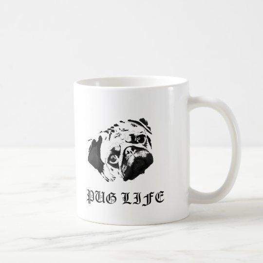 Mops-Leben Kaffeetasse
