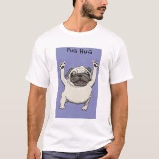 Mops-Umarmungs-Shirt T-Shirt