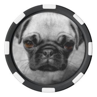 Mops-Welpe Poker Chip Sets