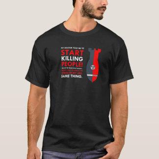 Mörder-Entwurf T-Shirt