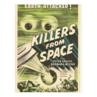 Mörder vom Raum Postkarte