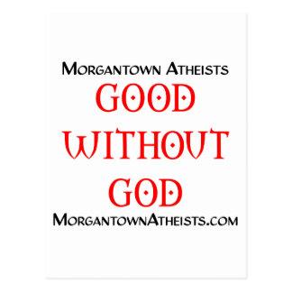 Morgantown-Atheisten Postkarte