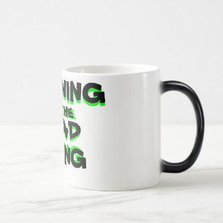MORGEN DER TOT-LEBENverwandelnden KAFFEE-TASSE Verwandlungstasse