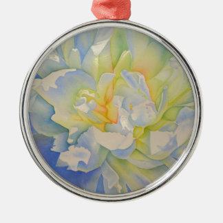 Morgen-Glühen Silbernes Ornament