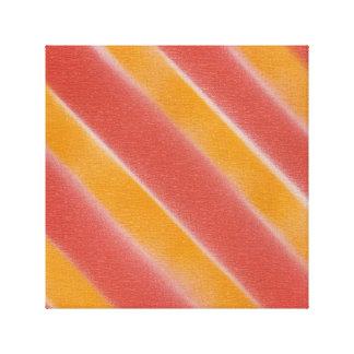 Morgen-heller Leinwand-Druck-Orangen-Sonnenschein Leinwanddruck
