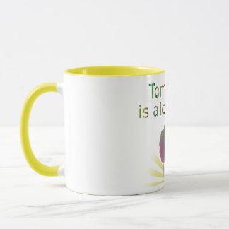 Morgen ist eine reizender TagesVintage Tasse