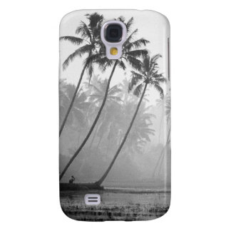 Morgen-Meditation unter Palmen, Samsung G4 Galaxy S4 Hülle
