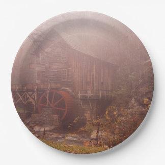 Morgen-Nebel Pappteller 22,9 Cm