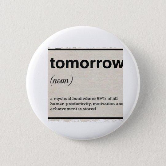 Morgen Runder Button 5,7 Cm