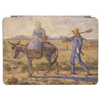 Morgen Vincent van Goghs  , gehend aus zu arbeiten iPad Air Hülle