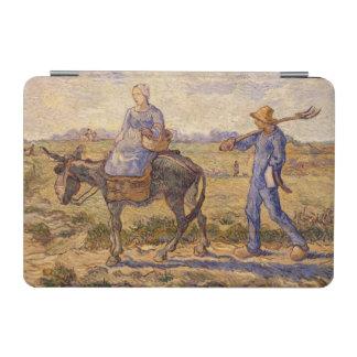 Morgen Vincent van Goghs  , gehend aus zu arbeiten iPad Mini Hülle