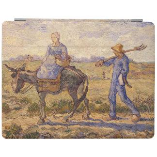 Morgen Vincent van Goghs  , gehend aus zu arbeiten iPad Smart Cover