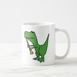 MORGENS, unglaublich witzig T-rex Dinosaurier, der Kaffeetasse