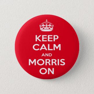 Morris-Tanzen Runder Button 5,7 Cm