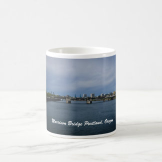 Morrison-Brücke Portland, Oregon Kaffeetasse