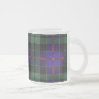 Morrison-Clan karierter schottischer Tartan Mattglastasse