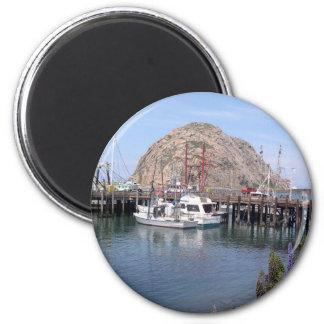 Morro Bucht-Erinnerungen für Ihre Kühlschrank-Tür Runder Magnet 5,7 Cm