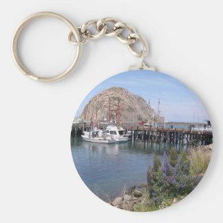Morro Bucht-Foto Keychain Schlüsselanhänger