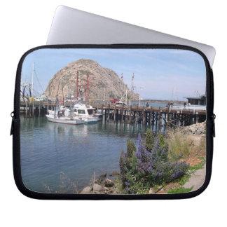 Morro Bucht-Landschaftslaptop-Hülsen Laptopschutzhülle