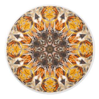 Mosaik-abstraktes Keramikknauf