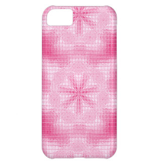Mosaik-Blumen weicher rosa iPhone 5c Fall iPhone 5C Hülle