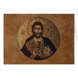 Mosaik Christus Pantocrator Karten