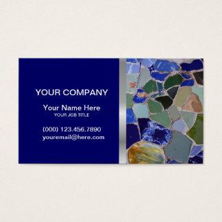 Mosaik-elegante Visitenkarte