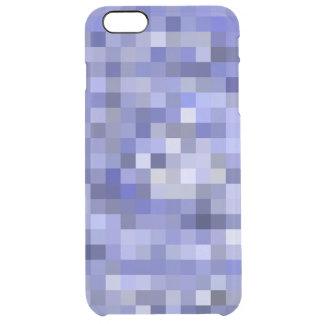 Mosaik-Fliesen-undeutliches Blau - Schatten des Durchsichtige iPhone 6 Plus Hülle