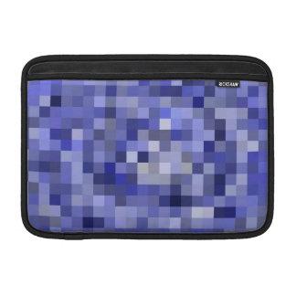 Mosaik-Fliesen-undeutliches Blau - Schatten des MacBook Sleeve