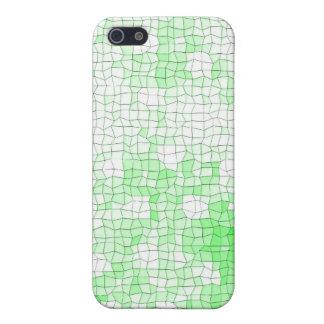 Mosaik-Grün I Etui Fürs iPhone 5